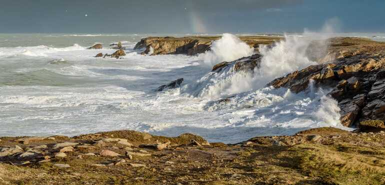 The best spots in Quiberon Bay for observing spring tides