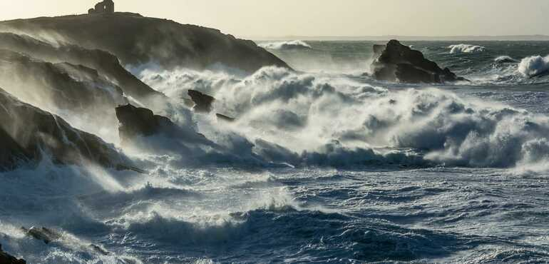 Experience the great tides in Baie de Quiberon this weekend!