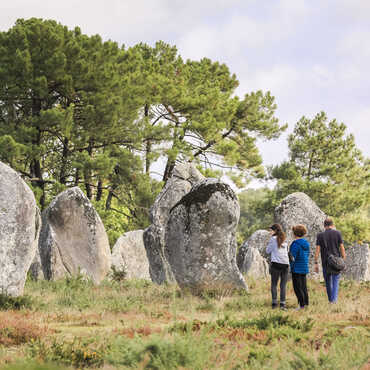 Visit the stones of Carnac